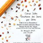 Corso sulla gestione dei semi per orto