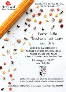 Corso sulla gestione dei semi